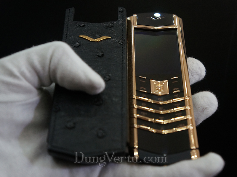 Vertu Signature S Red Gold Cũ